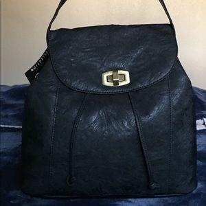 Black backpack/purse